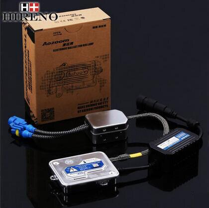 ФОТО Hireno Super-bright car xenon Light ballast For Maz-da CX-7 2007-15 Headlight Light Bulb HID Refit 2pcs