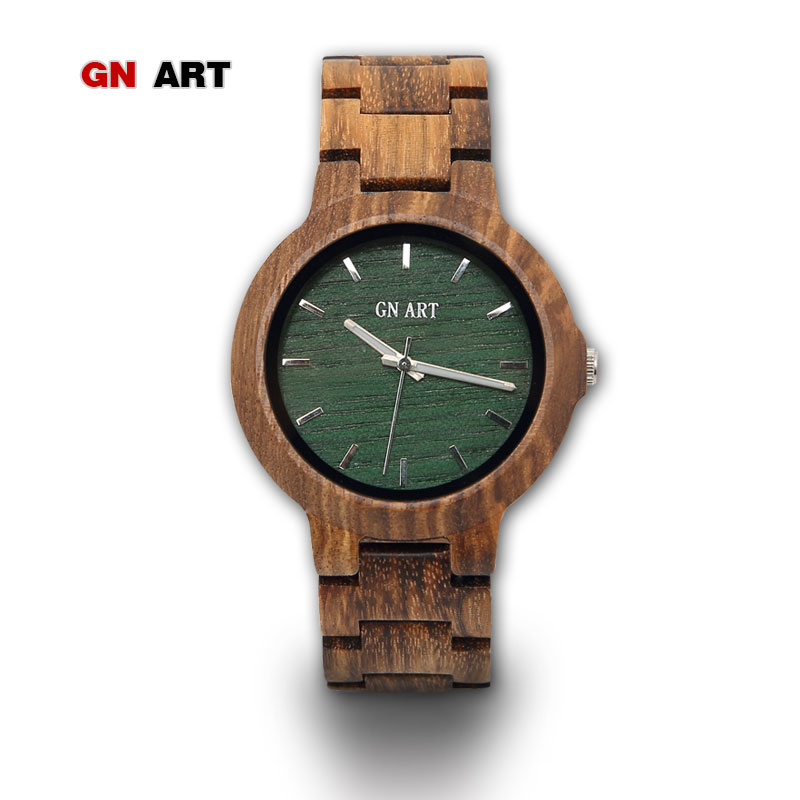 GNART10 men's wood watch relogio masculino reloj hombre 2018 wooden watch handmade Presents for men wooden wristwatch|masculino|masculinos relogios|masculino watch - title=