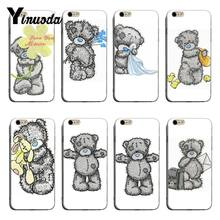 Yinuoda Slechte teddybeer Patroon Rubber tpu Soft Telefoon Accessoires Cover Case Voor iPhone 8 8 plus 7 7 plus 6 6 splus X XS XR Cover(China)