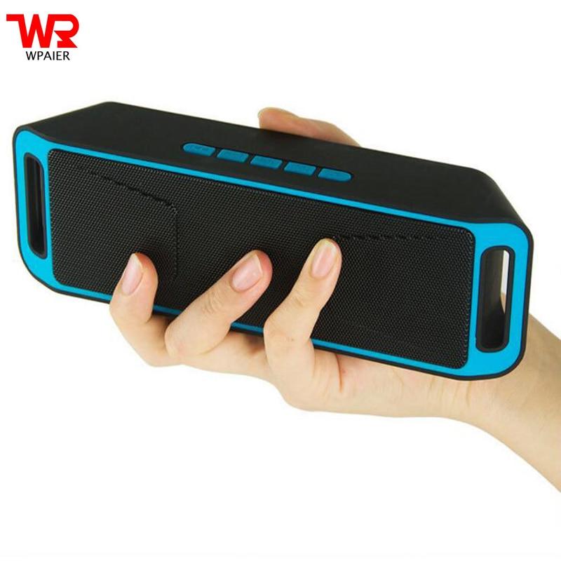 WPAIRE SC208 Wireless Bluetooth Speaker Portable Outdoor Audio Double Horn Bluetooth Mini Speaker Support TF/Udisk Multifunction