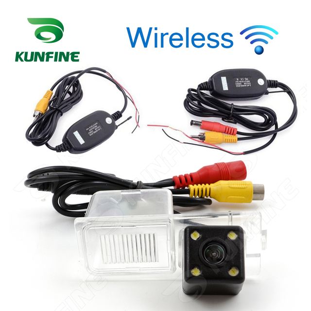 Wireless Ccd Track Car Rear View Camera For Ford Edge   Reverse Backup Camera Parking