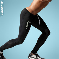 Mens Sport Long Sexy Tight Pants Gym Fashion Ankle Length Pants Penis Male Athletic Trousers Casual