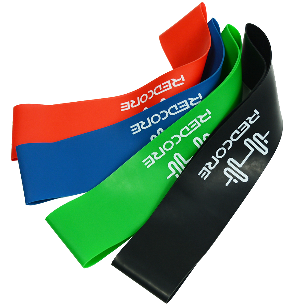 6 Level Yoga Resistance Bands Workout Training Pilates Rubber Loops 0.35mm-1.3mm Sport Elastic Bands For Fitness Body Building