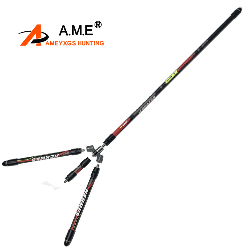 Archery Carbon Stabilizer System 30 Balance Rod for Recurve Bow Competition Stabilizer Damping Rod Shock