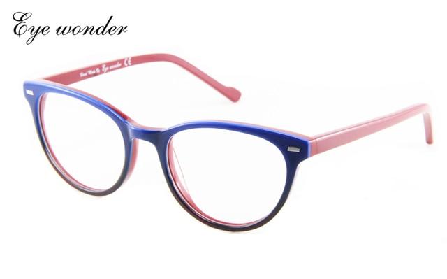 Maravilha Eye por Yoptical alta qualidade mulheres homens Retro óculos  armações de óculos óculos Brille 60667b9355