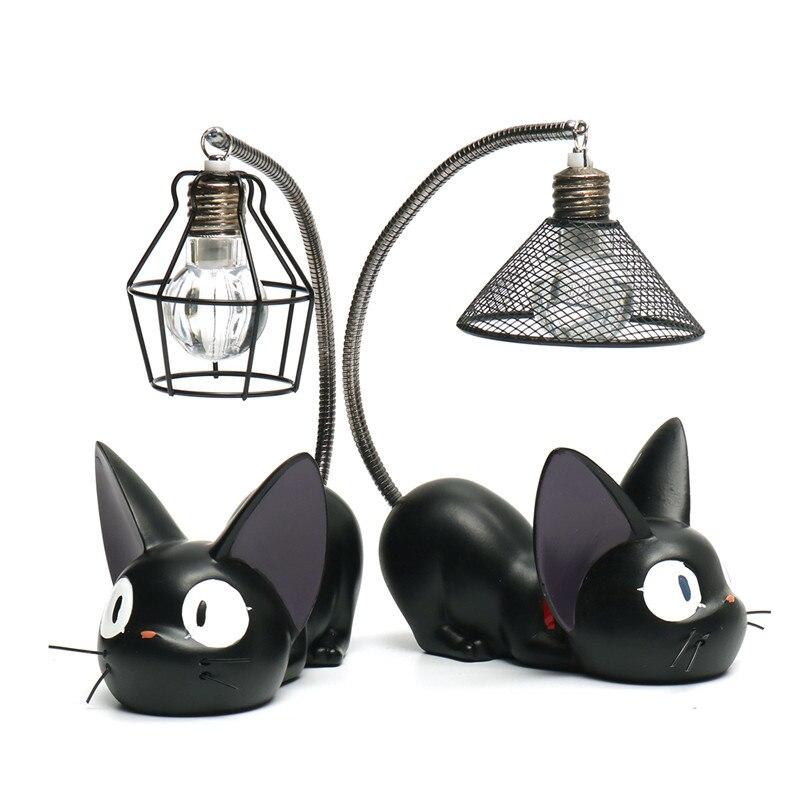 Маленькая кошка ночник Мультяшные украшения коллекция детская прикроватные тумбочки, журнальный столик ночного освещения лампы Deocr подаро...
