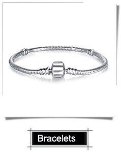 À faire soi-même 2Pcs Gemini européenne Zircon Charm Beads Fit 925 Pendentif En Argent Collier Bracelet
