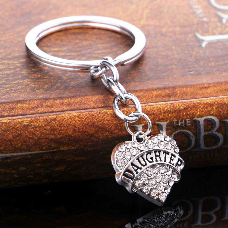 Aliexpress.com : Buy Family Gifts Silver Clear Rhinestone