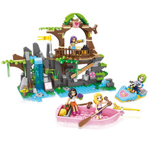 392pcs Children's educational building blocks toy Compatible Legoingly Friends city girls Login island DIY figures Bricks gifts(China)