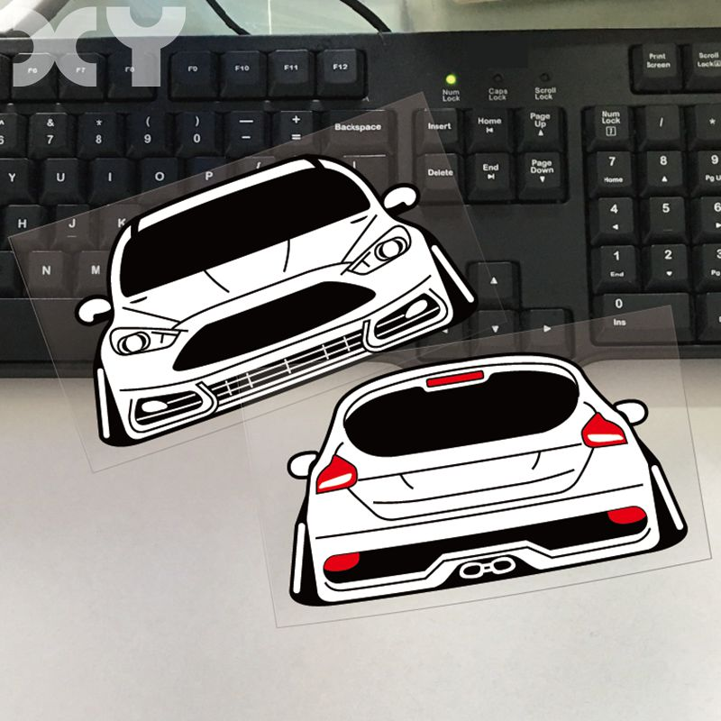 XY Waterproof Car Sticker Motorcycle Reflective Decoration ...