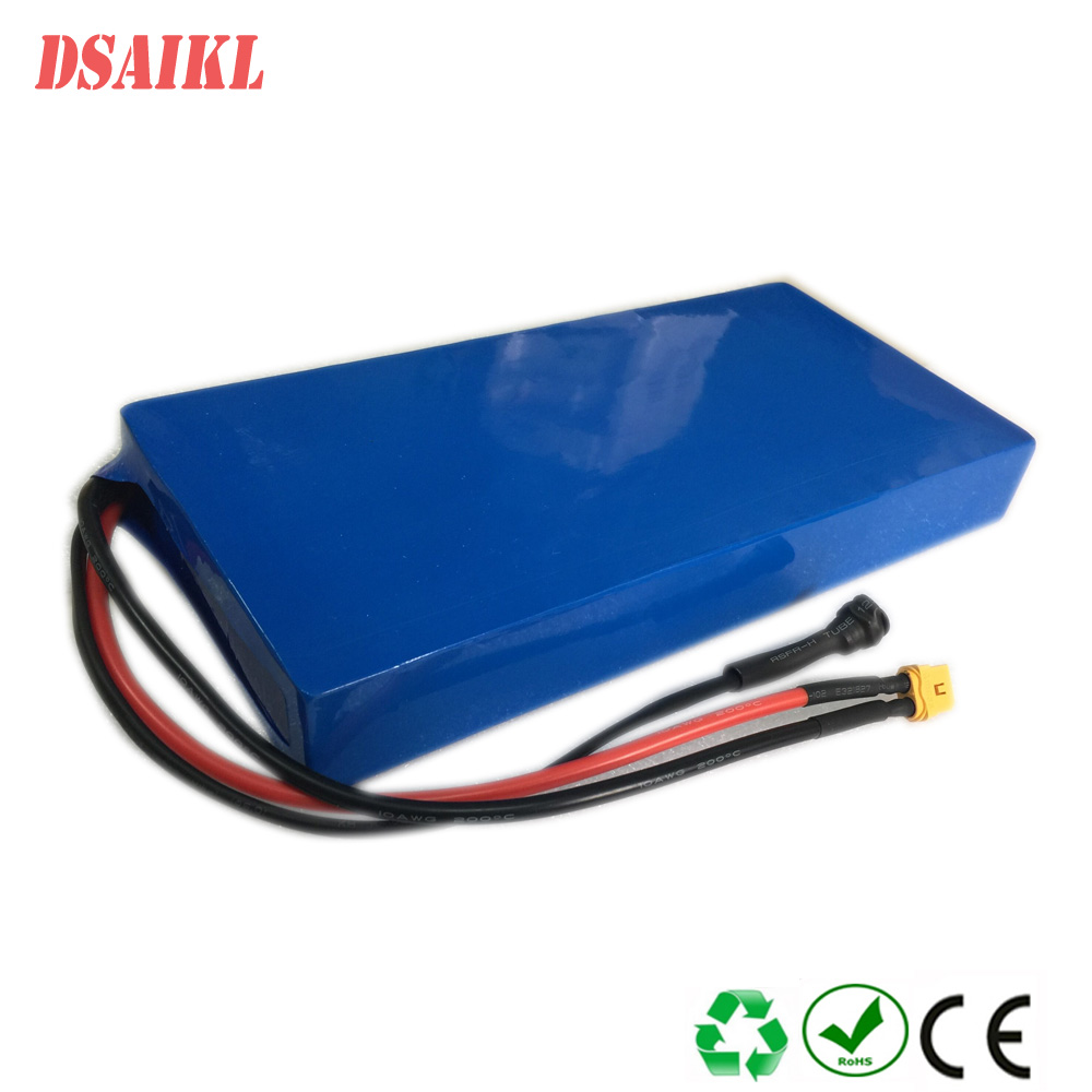 Custom lithium battery pack 7S 25.9V 18650 battery pack 24V 28ah for ebike esccoters with charger|Electric Bicycle Battery|   - title=