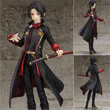 HOT! 20cm Touken Ranbu Online Action Figure Toys Lovely Kashuu Kiyomitsu PVC Model Toy Doll Cartoon Arts Crafts Collection Gifts