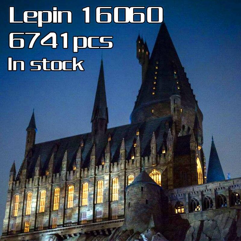 En Stock Lepin 16060 Harry Film Potter Hogwartsed Château École de Magie Blocs de Construction Briques Jouet Cadeaux