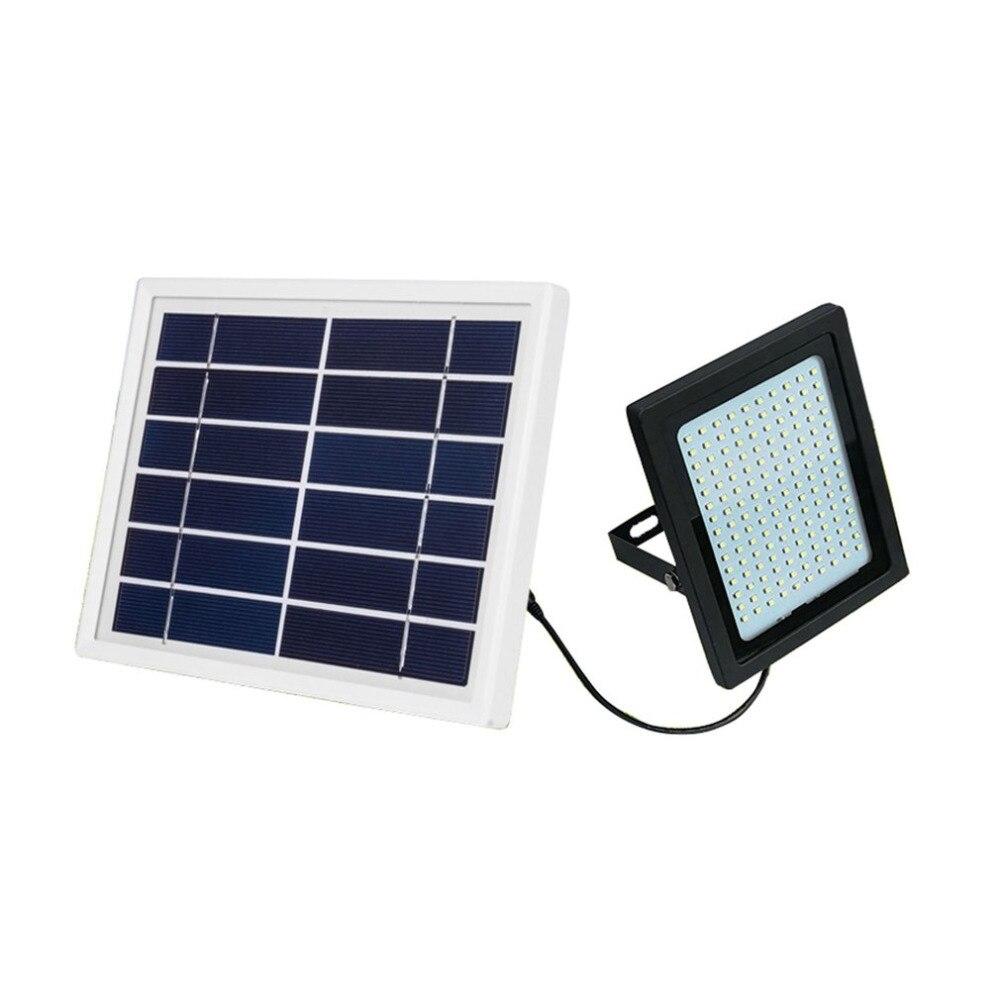 150LED Solar Powered Flood Light Radar Induction Spotlight IP65 Waterproof Outdoor Lamp for Home Garden Lawn Pool Yard