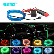 GEETANS 5M Car Styling Interior Decorative Thread Sticker Moulding Trim Strip Car Stickers Decals Car-Styling Accessories BB