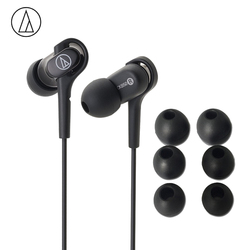 Original Audio-Technica ATH-CKB50 Wired Earphone Balanced Armature Drive For Iphone Xiaomi Huawei For Samsung ANDROID iOS Music