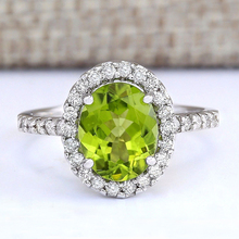 Fashion Oval Green CZ Crystals Wedding Rings for Women Micro Paved AAA Zircon Engagement Ring Jewelry Anel Bague Femme L5K246 meaeguet gold color luxury paved crystal engagement ring for women stainless steel big statement ring jewelry bague femme