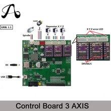 ICROATO GRBL 1,1 usb-порт ЧПУ гравировка машинный пульт управления, 3 оси Управление, лазерная гравировка машины доска