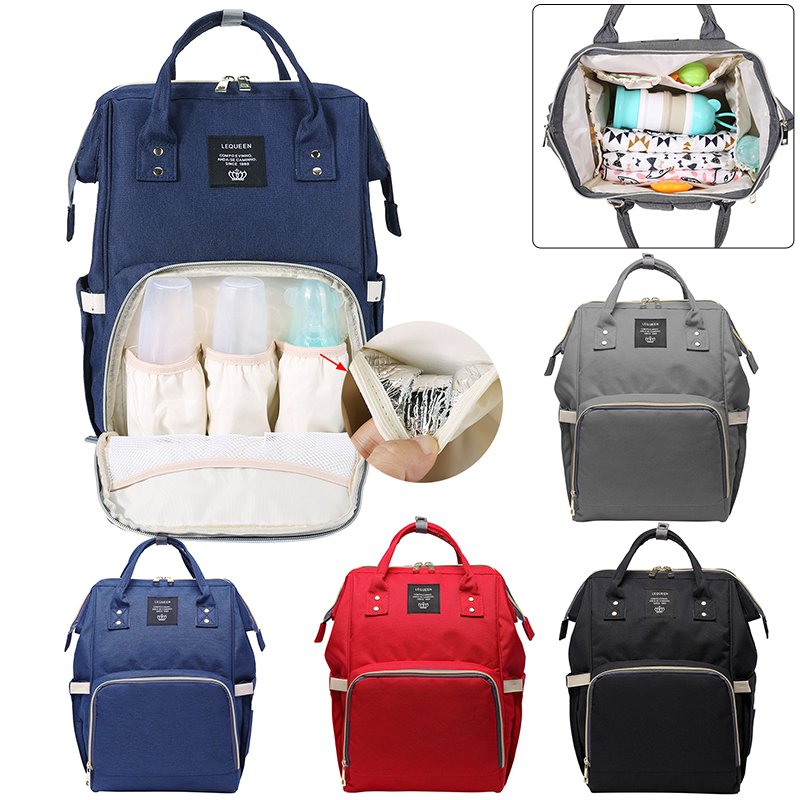 Multi-function Diaper Bags Zip Nursing Nappy Bag Travel Backpack for Mom Large Capacity Baby Bag Mummy Baby Care diaper backpack large capacity baby bag multi function travel backpack nappy bags nursing bag fashion mummy
