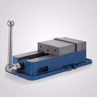 powerful and precise clamping vise ACCU Lock Vise with 6 Inch Jaw Width Milling Drilling Machine Lock Down Vise Bench Clamp