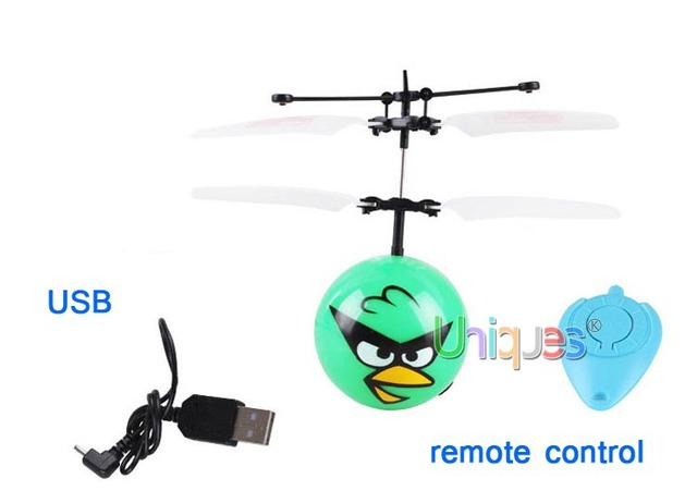 Flying Bird Saucer UFO RC Remote Control Helicopter Quadcopter Floating Ball Flying Fairy Birthday Gift Boy 2015 New Toy