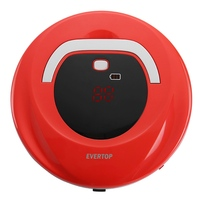 Vacuum Cleaner Robot Wireless Intelligent Sweeper Strong Suction Super Automatic Clean On Home Hard Floor Thin Carpet EU Plug