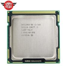 Intel Core i5 760 Processor 2.8 GHz 8MB Cache Socket LGA1156 45nm Desktop CPU