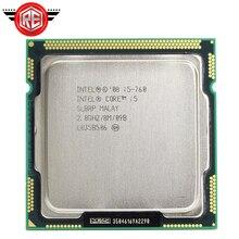 Intel Core i5 procesor 760 2.8 GHz 8MB pamięci podręcznej gniazdo LGA1156 45nm pulpit CPU