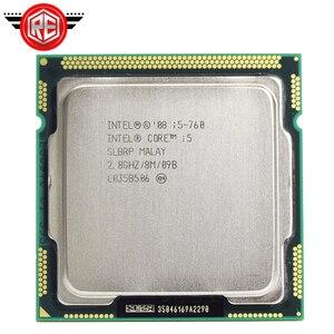 Image 1 - Procesador Intel Core i5 760, 2,8 GHz, 8MB, caché, Socket LGA1156, 45nm, CPU de escritorio