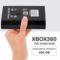 1pc Light Weight Portable 500GB 500G HDD Internal Hard Drive Disk HDD for Microsoft for Xbox 360 & Slim Large Capacity