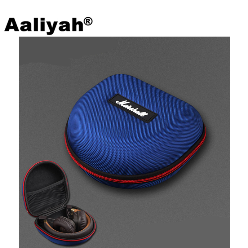 [Aaliyah] Headphones Case Storage Carrying Hard Box Case for Headphones Earphone Headset Accessories of Marshall Major Headphone spark storage bag portable carrying case storage box for spark drone accessories can put remote control battery and other parts