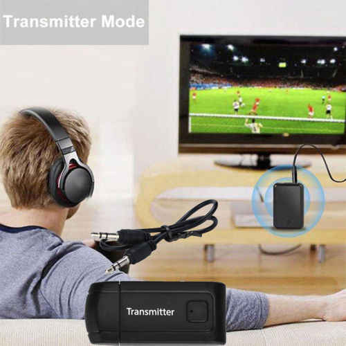 Receptor y transmisor Bluetooth V4 de 3,5mm, adaptador de Audio estéreo inalámbrico A2DP, música, Dongle y receptor de Audio para PC, TV y auriculares r10