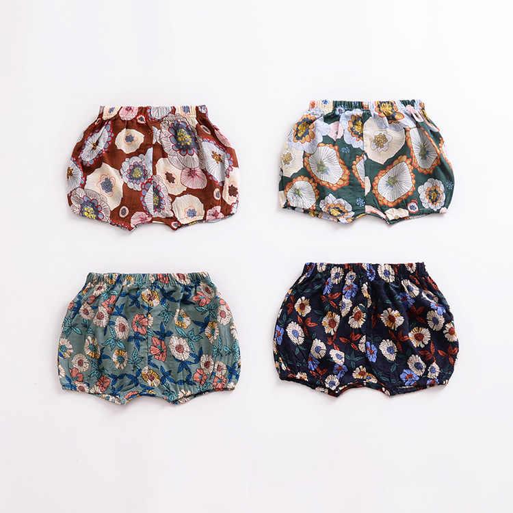 INS/лето для мальчиков и девочек PP хлопковые шорты Newbron дышащая Штаны детские шорты для 0-4Age детей 10 стиль