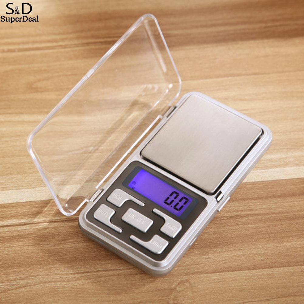 Digital Scale Jewelry Precision Tool Gold 0.01g Pocket Electronic LCD Diamond Portable Balance 200/300/500g Scale Scale Weighing 150kg 100g portable electric digital baby measuring scale baby scale weighing tool lcd display with high precision
