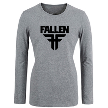Fallen Skateboards Street Style T Shirt Women Spring Autumn Full Sleeve T-shirt The Empire Fashion Star Wars Girls Tshirt Tops