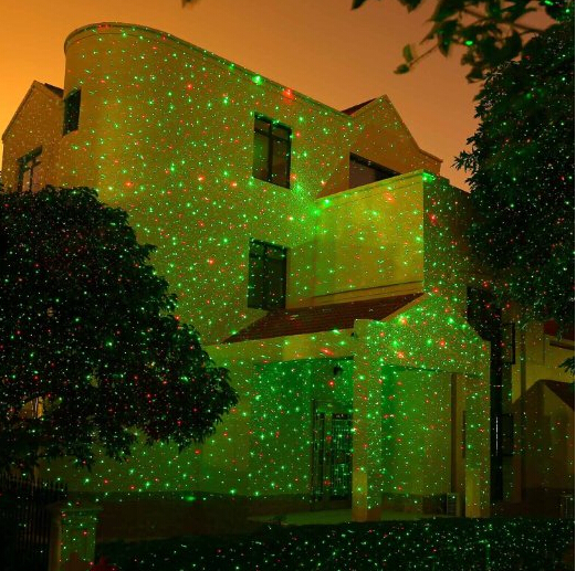 led stage light effect christmas laser lights star shower for park party home