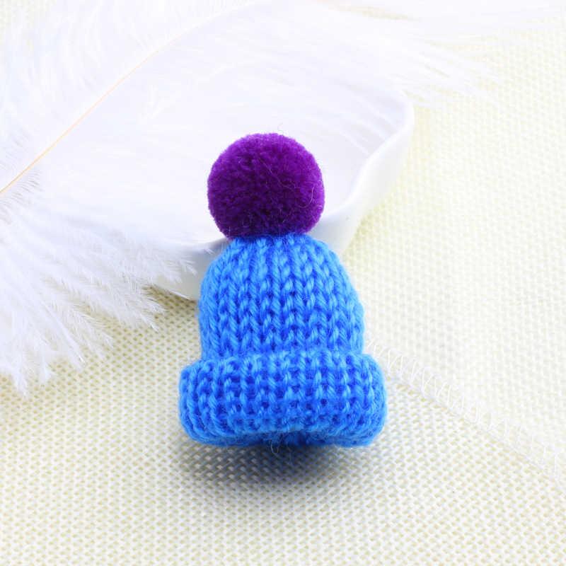 2019 Hàn Quốc Đầy Màu Sắc Pom Pom Hat Áo Len Trâm Mini Dễ Thương Quả Bóng Trâm Cài Pin Phụ Nữ Cô Gái Thời Trang Huy Hiệu Trang Trí Chân Đồ Trang Sức