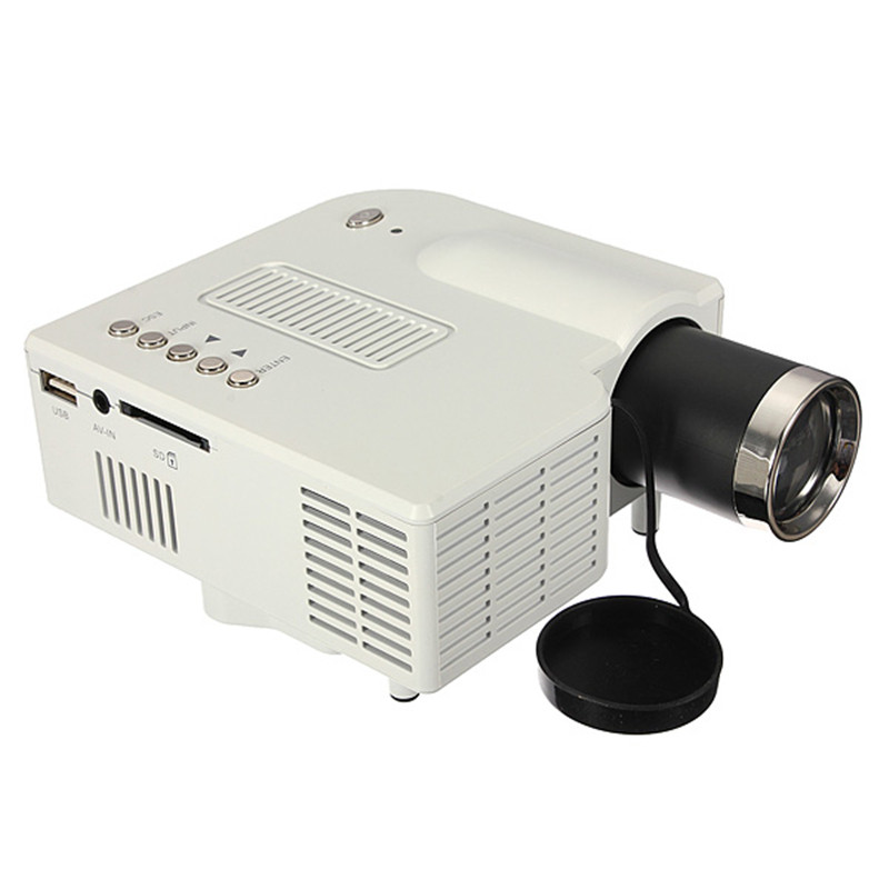ФОТО New Arrival High Quality UC28 Projector Mini HD Multimedia LED Projector Home Cinema Theater AV VGA SD USB HDMI
