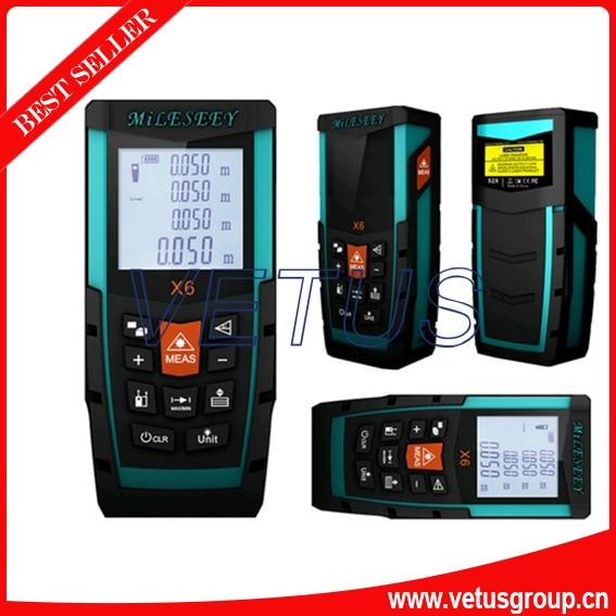 ФОТО X6 50M waterproof digital distance meter