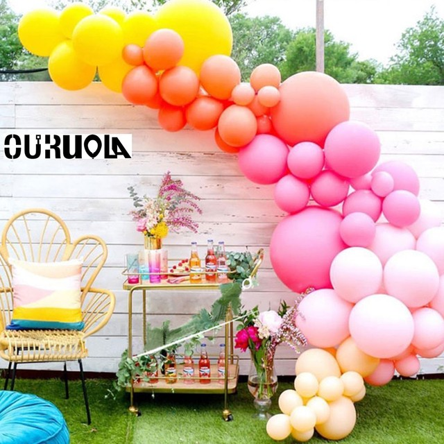 510 Air Balloons Birthday Party Decorations Kids Globos Ballon