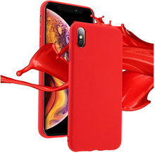 Luxury Soft Back Matte Color Cases for iPhone 7 plus 8 6 6s X XS max XR Case Shockproof TPU Silicone Cover Capa