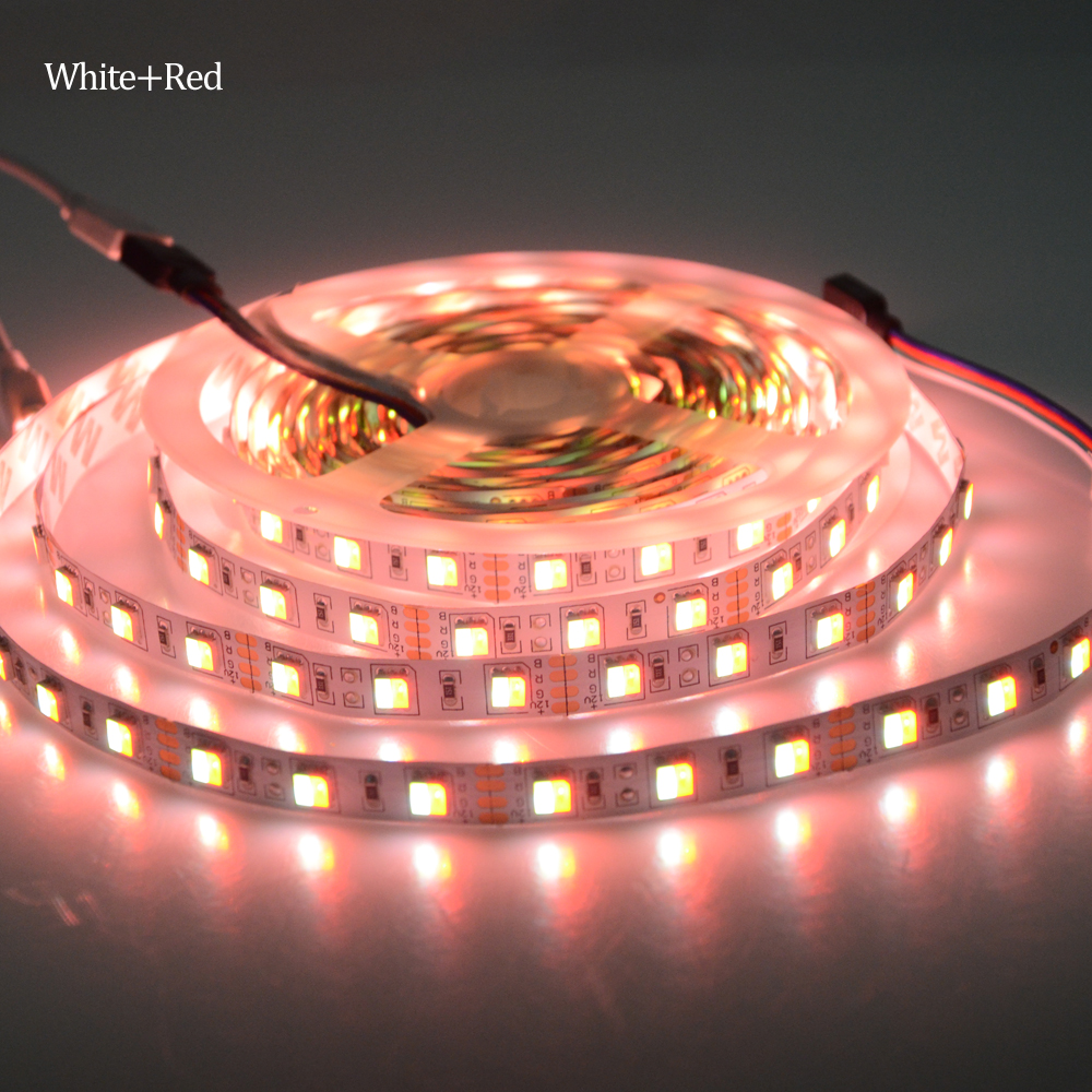 Double color led strip light 5m dc12v smd5050 flexible tape ribbon double color led strip light 5m dc12v smd5050 flexible tape ribbon lights indoor home decoration lighting in led strips from lights lighting on mozeypictures Choice Image