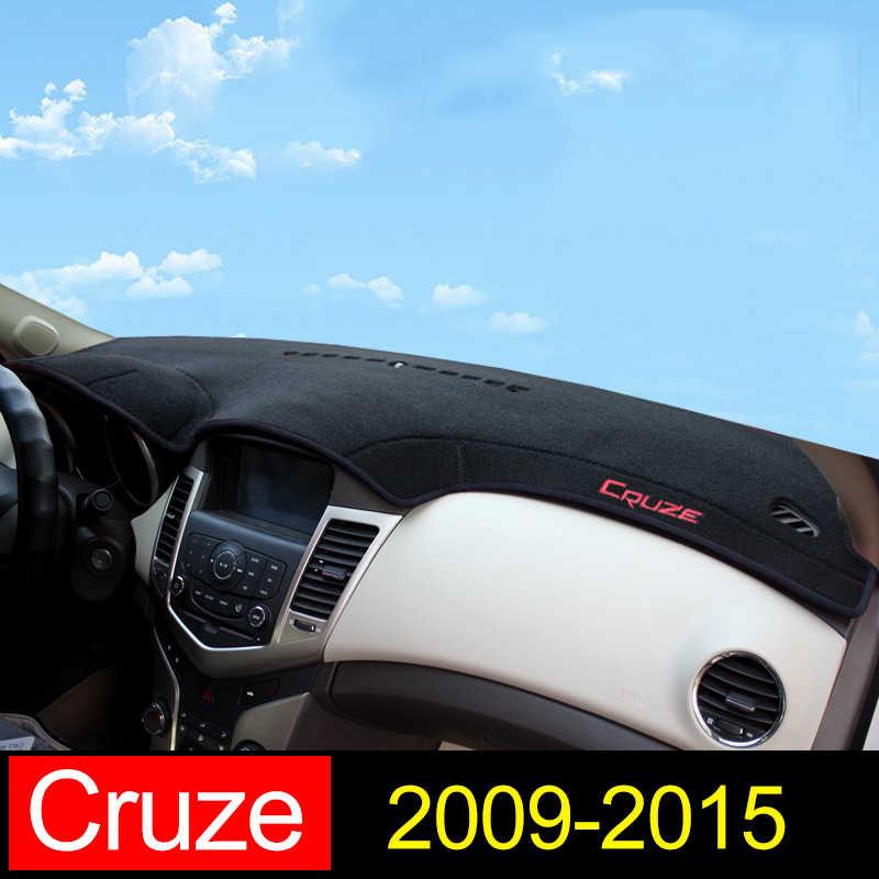 シボレークルーズ 2009 2010 2011 2012 2013 2014 2015 車のダッシュボードカバーマット太陽シェードパッド計器パネルカーペットアクセサリー