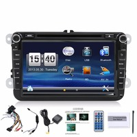 8inch 2din Multimedial VW Car DVD GPS Navigation Audio Camera TV Player For GOLF 6 New