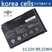 HSW W370bat 8 battery for Clevo W350et W350etq W370et Sager Np6350 Np6370 Schenker Xmg A522 XMG A722 6 87 w370s 4271