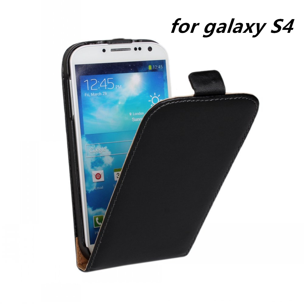 for Samsung galaxy S4 i9500 luxury Leather Flip Case Cover ...
