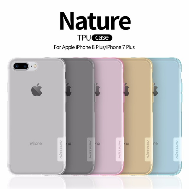 Ultra Thin Transparent Nature TPU Case For Apple iphone 8 7 7 plus 8 plus plus