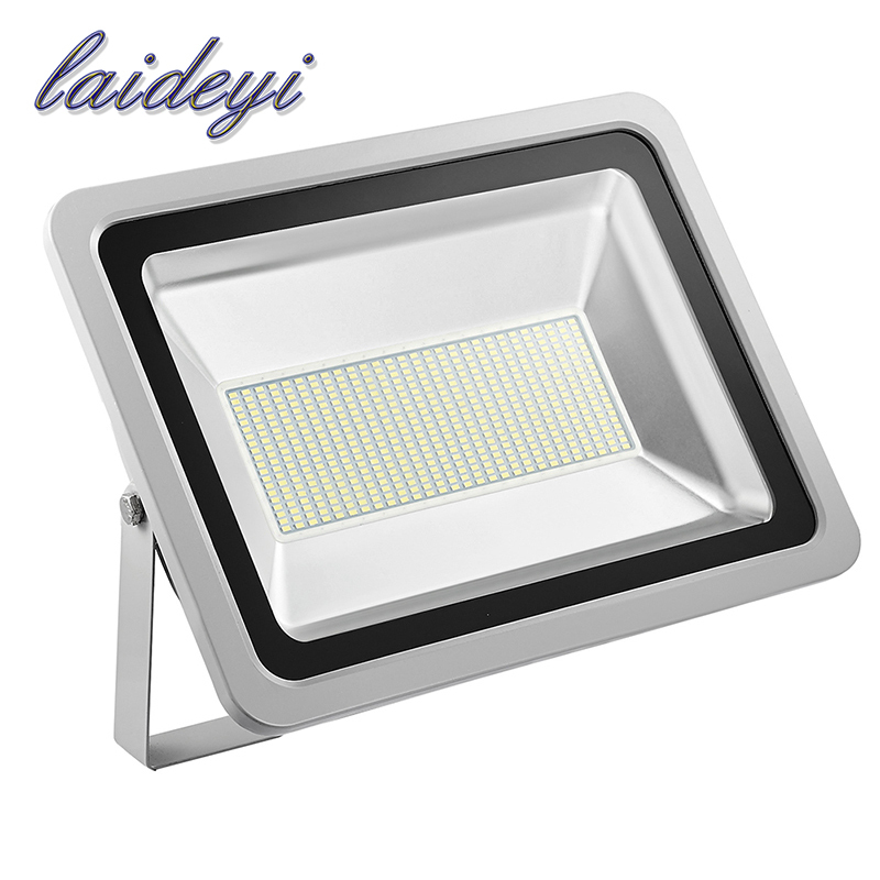 LAIDEYI 2Pcs IP65 Waterproof Led Flood Light 300W 24000LM Led Floodlight Outdoor Lighting 220V Led Reflector Outdoor Spotlight 2017 ultrathin led flood light 70w cool white ac110 220v waterproof ip65 floodlight spotlight outdoor lighting free shipping