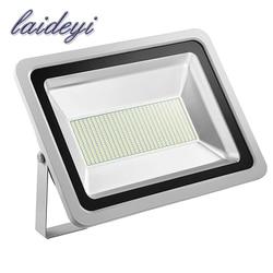LAIDEYI 2Pcs IP65 Waterproof Led Flood Light 300W 24000LM Led Floodlight Outdoor Lighting 220V Led Reflector Outdoor Spotlight