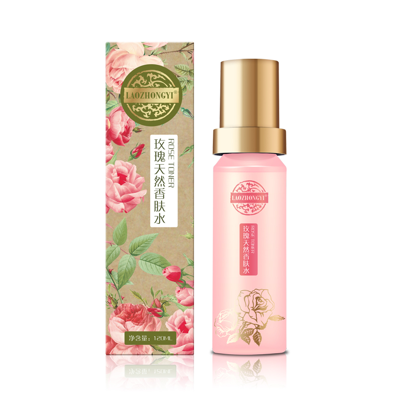 Traditional Chinese medicine rose natural fragrance skin toner brightens skin tone and compacts water. estel mohito бальзам для волос манго 200 мл